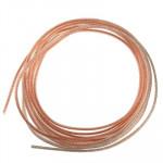 Cable Audio 10 m Haut-parleur flexible RVB Câble, Diamètre extérieur: 5,1 x 10,2 mm - wewoo.fr