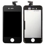 Pièces détachées iPhone 4S 3 en 1 LCD original + cadre Touch Pad Assemblée Digitizer Noir - wewoo.fr