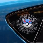 Stickers 3D créatif voiture