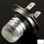 LED Voiture H7 blanche Ampoule, DC 10.8-15.4V n°2 - wewoo.fr