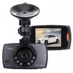 Dashcam LCD voiture DVR caméra 2,7 pouces 480p appareil photo 1.3MP 170 degrés grand angle de visualisation, soutien vision n...