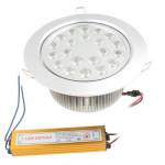 Spot LED encastrable 21W blanche jour Jours lanternes Ampoule Down Light, Flux lumineux: 1120-1180lm - wewoo.fr