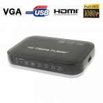 Passerelle multimédia 1080P HD Media Player, Cartes Support SD / MMC Noir n°2 - wewoo.fr