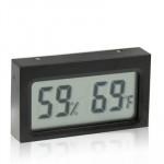Thermomètre intérieur Mini LCD humidité numérique affichage Fahrenheit - wewoo.fr