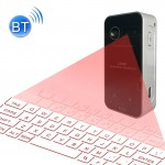 Clavier laser Pocket Virtual Bluetooth V3.0 Projection Keyboard Android / iPhone Apple PC, etc. Noir - wewoo.fr