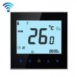 Thermomètre intérieur BHT-1000-GA-WIFI 3A Type de chauffage l'eau charge Touch LCD Digital WiFi thermostat la salle, Affichag...