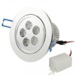 Spot LED encastrable 5W blanc chaud Jours lanternes Ampoule / Lumière Down, Flux lumineux: 400-450lm - wewoo.fr