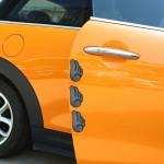 Autocollant anti choc voiture 4 PCS aile d'ange Forme Style de bande dessinée PVC Protection automatique anti-rayures Garde p...