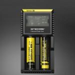 Chargeur de piles Nitecore Intelligent Digi avec indicateur LED 14500, 16340 RCR123, 18650, 22650, 26650, Ni-MH et Ni-Cd AA, ...