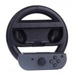 Accessoires Nintendo Switch Controller Commutateur Joy-Con non inclus Volant de jeu ronde Noir - wewoo.fr
