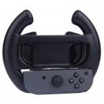 Accessoires Nintendo Switch Controller Commutateur Joy-Con non inclus Volant DemiCercle Gaming Noir - wewoo.fr