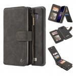 Housse en cuir Galaxy S8+ 007 Samsung S8 + / G9550 Crazy Horse Texture Retournez détachable Retour avec carte Machines à sous...