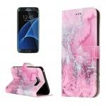 Housse en cuir Galaxy S8+