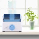 Ventilateur électrique 30W Turbine Aucune lame Desktop Fan Mute Dortoir / Chambre Salon Bureau, 3 types Vitesse Modes, AC 220...