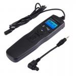 Cordon d'obturation appareil photo RST-7002 Écran LCD Accéléré Intervalomètre déclencheur numérique Télécommande de minuterie...