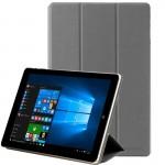 Housses tablette CHUWI HIBOOK Pro WMC0344H Texture de pierre cas Retournement horizontal en cuir avec support 3-pliage - wewo...