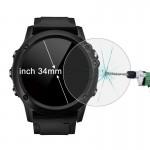 Protection écran Objet connecté Hat-Prince 34mm Diamètre circulaire Smart Dial Montre 0.2mm 9H dureté de surface 2.15D courbe...