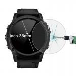 Protection écran Objet connecté Hat-Prince 36mm Diamètre circulaire Smart Dial Montre 0.2mm 9H dureté de surface 2.15D courbe...