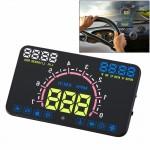 Affichage tête haute E350 5,8 pouces voiture HUD / OBD2 Gator automobile monté sur véhicule Up Display Système de sécurité av...
