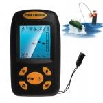 Fish Finders Poisson à ultrasons portable Finder, profondeur de l'eau et la température Fishfinder Wired Sonar capteur LCD Di...