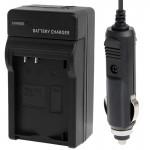 Chargeur Allume cigare appareil photo 2 en 1 de batterie voiture l'appareil numérique et Nikon EL20 noir - wewoo.fr