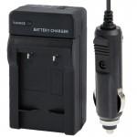 Chargeur Allume cigare appareil photo 2 en 1 de batterie voiture l'appareil numérique et Canon NB-10L noir - wewoo.fr