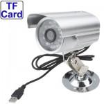 Caméra CCD à Carte Mémoire enregistreur vidéo numérique avec fente TF, Soutien Enregistrement sonore / vision nocturne de dét...
