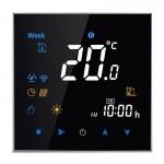 Thermomètre intérieur BHT-3001 16A Charge électronique Type de chauffage LCD Thermostat d'ambiance avec capteur, affichage Ho...