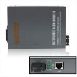 Récepteur de fibre Optique 10/100 / 1000M Multimode Gigabit Adaptive Optical Transceiver - wewoo.fr