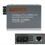 Récepteur de fibre Optique Monomodale Fast Ethernet Transceiver - wewoo.fr