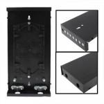 Récepteur de fibre Optique 8 Terminal Box / bornes vidéo numérique Noir - wewoo.fr