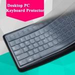 Couverture de clavier PC portable transparent bureau en silicone ultra-mince - wewoo.fr