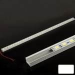 Tube LED 8.5W Blanc 36 SMD 5050 Aluminium Light Bar, Longueur: 50cm N3372 - wewoo.fr