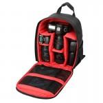 Sac à dos appareil photo DL-B028 style décontracté portable étanche anti-rayures Sports de plein air caméra SLR téléphone GoP...