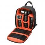 Sac à dos appareil photo DL-B028 style décontracté portable étanche Sports caméra extérieure anti-rayures SLR téléphone GoPro...