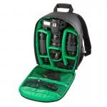 Sac à dos appareil photo DL-B028 style décontracté portable étanche Caméra anti-rayures Sports de plein air SLR téléphone GoP...