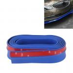 Pare-chocs voiture Universal 2.5m avant Lip Spoiler Splitter Jupe adhésif de protection Bleu - wewoo.fr