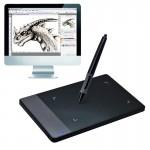 Tablette graphique Portable intelligent 4,0 x 2,23 pouces 4000LPI Stylus Office Signature Tablet numérique avec stylo - wewo...