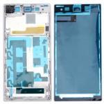 Boitier intégral Sony logement avant Plaque Cadre Bezel LCD de remplacement Xperia Z1 / C6902 L39h C6903 C6906 C6943 Blanc -...