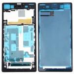 Boitier intégral Sony logement avant Plaque Cadre Bezel LCD de remplacement Xperia Z1 / C6902 L39h C6903 C6906 C6943 Noir - ...