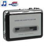 Convertisseur de cassette audio Bande à PC Super USB MP3 Converter Capture lecteur musique - wewoo.fr