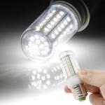Ampoule LED SMD 2835 E27 6W Blanc 72 Corn ampoule, AC 220V - wewoo.fr