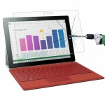 Verre trempé Tablette Microsoft 0.4mm 9H + Surface Dureté 2.5D Antidéflagrant Film en Pro 3 - wewoo.fr