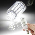 Ampoule LED SMD 2835 E14 6W Blanc 72 Corn ampoule, AC 220V - wewoo.fr