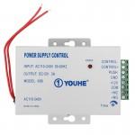 Contrôleur d'accès Commande de porte d'entrée d'alimentation électrique les serrures 0-30 secondes YH-K81 Argent - wewoo.fr
