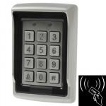 Contrôleur d'accès Support-Alone en acier inoxydable Porte simple avec clavier, support EM Card Reader AK106 - wewoo.fr