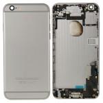 Boitier intégral iPhone 6 Plus pleine couverture arrière boîtier Gris - wewoo.fr