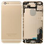 Boitier intégral iPhone 6 Plus pleine couverture arrière du logement Gold - wewoo.fr