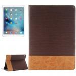 Smart Cover iPad Pro 9.7 Pouces Cross Texture Retournement horizontal Étui en cuir avec support et carte Machines à sous port...