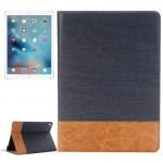 Smart Cover iPad Pro 9.7 Pouces Cross Texture Flip Case horizontal en cuir avec support et carte Machines à sous porte-monnai...